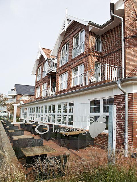 Hotel Logierhus Langeoog - Terrasse