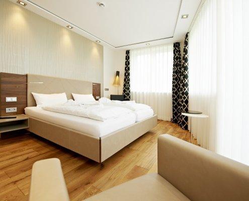 Hotel Logierhus Langeoog - Zimmer - Doppelzimmer classic - Bett