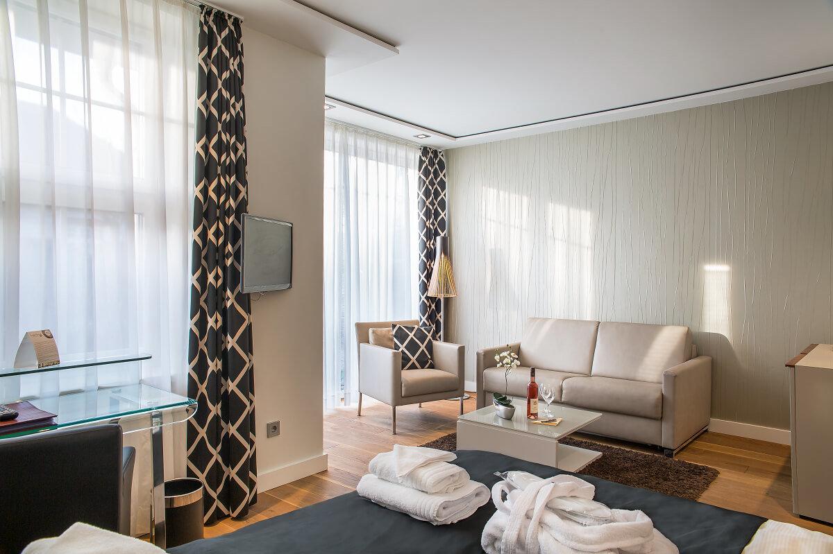 Hotel Langeoog - Zimmer - Logierhus Langeoog