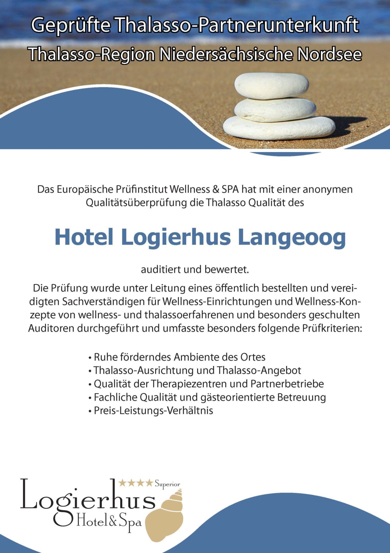 Logierhus Langeoog Hotel Langeoog Thalasso